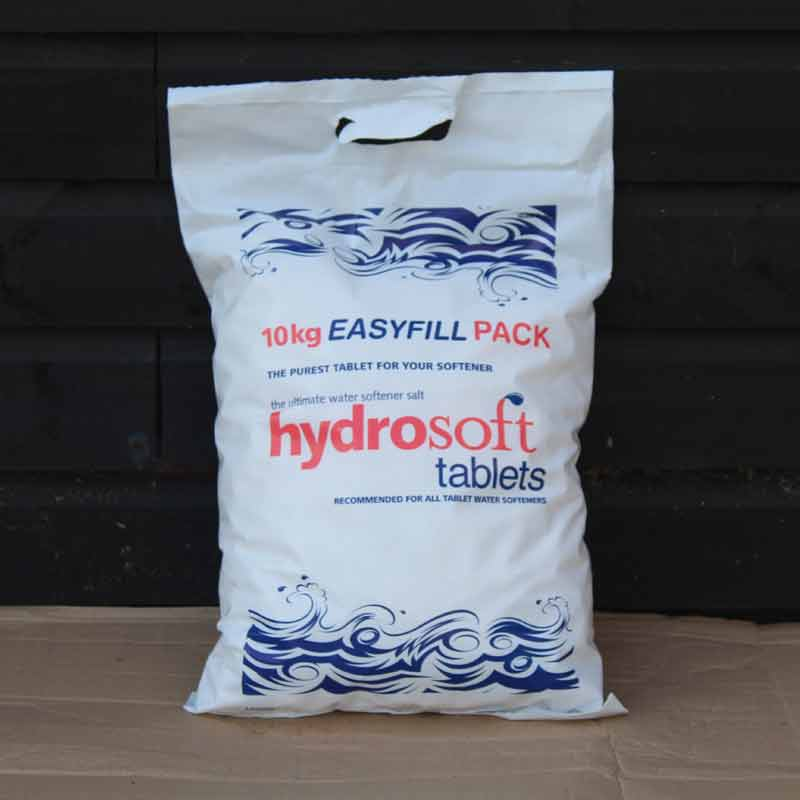 HYDROSOFT Water Softener Salt TabletsFCC Grade 99.9/% Pure1 Bag = 10 Kg