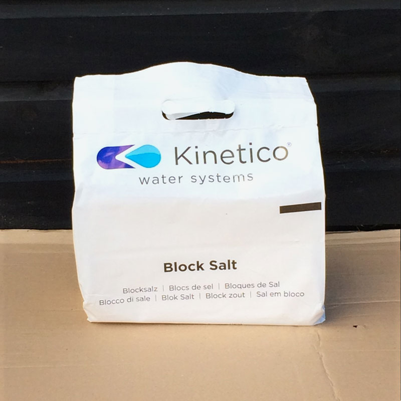 Kinetico Block Salt (8kg bag)